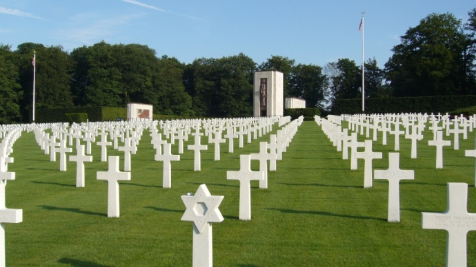 Luxembourg American Cemetery -summer 2007